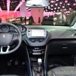 Peugeot 208 JBL XY edition dashboard at the 2014 Paris Motor Show