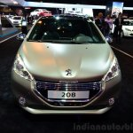 Peugeot 208 JBL XY edition front at the 2014 Paris Motor Show