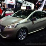 Peugeot 208 JBL XY edition front three quarter at the 2014 Paris Motor Show