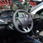 Peugeot 208 JBL XY edition interior at the 2014 Paris Motor Show