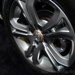 Peugeot 208 Roland Garros Edition wheel at the 2014 Paris Motor Show