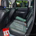 Peugeot 3008 Crossway rear seat at the 2014 Paris Motor Show