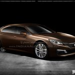 Peugeot Exalt production version rendering