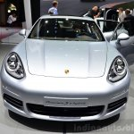 Porsche Panamera S E-Hybrid front at the 2014 Paris Motor Show