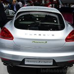 Porsche Panamera S E-Hybrid rear at the 2014 Paris Motor Show