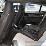 Porsche Panamera S E-Hybrid rear seat at the 2014 Paris Motor Show