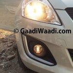 Refreshed Maruti Swift headlight