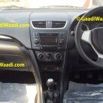 Refreshed Maruti Swift interior V trim