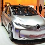 Renault EOLAB concept front fascia at the 2014 Paris Motor Show