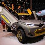Renault KWID Concept front three quarter