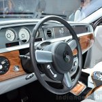 Rolls-Royce Phantom Metropolitan Collection dashboard at the 2014 Paris Motor Show