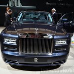 Rolls-Royce Phantom Metropolitan Collection front at the 2014 Paris Motor Show