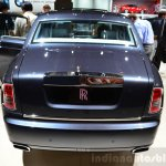 Rolls-Royce Phantom Metropolitan Collection rear fascia at the 2014 Paris Motor Show