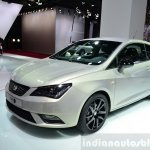 Seat Ibiza 30th Anniversary Edition front three quarter at the 2014 Paris Motor Show