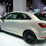 Seat Ibiza 30th Anniversary Edition rear three quarter at the 2014 Paris Motor Show
