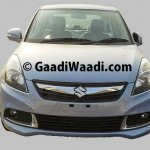 Spied 2015 Maruti Dzire facelift front