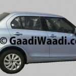 Spied 2015 Maruti Dzire facelift side