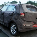 Spied Hyundai Elite i20 Cross rear quarter