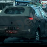 Spied Hyundai Elite i20 Cross rear quarters