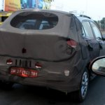 Spied Hyundai Elite i20 Cross