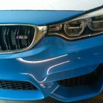 Spied in India BMW M3 front