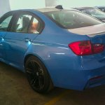 Spied in India BMW M3 rear