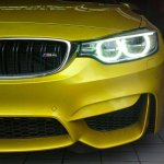 Spied in India BMW M4 front