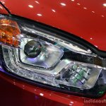 Ssangyong Korando headlamp at the 2014 Colombo Motor Show Sri Lanka
