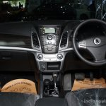 Ssangyong Korando interior at the 2014 Colombo Motor Show Sri Lanka