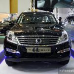 Ssangyong Rexton front at the 2014 Colombo Motor Show Sri Lanka