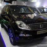 Ssangyong Rexton front three quarter at the 2014 Colombo Motor Show Sri Lanka