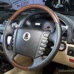 Ssangyong Rexton steering wheel at the 2014 Colombo Motor Show Sri Lanka