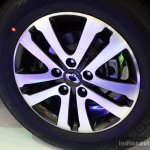 Ssangyong Rexton wheel at the 2014 Colombo Motor Show Sri Lanka