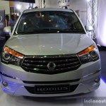 Ssangyong Rodius front at the 2014 Colombo Motor Show Sri Lanka
