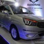 Ssangyong Rodius front three quarter right at the 2014 Colombo Motor Show Sri Lanka