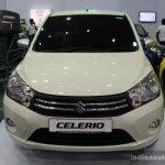 Suzuki Celerio Elegance edition front at the 2014 Colombo Motor Show Sri Lanka