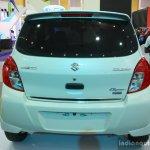 Suzuki Celerio Elegance edition rear at the 2014 Colombo Motor Show Sri Lanka