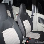 Suzuki Celerio Elegance edition seats at the 2014 Colombo Motor Show Sri Lanka