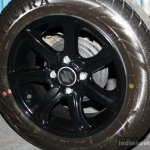 Suzuki Celerio Xtreme edition wheel at the 2014 Colombo Motor Show Sri Lanka