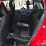Suzuki Celerio cabin rear at the 2014 Paris Motor Show