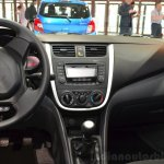 Suzuki Celerio center console at the 2014 Paris Motor Show