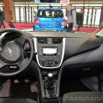Suzuki Celerio dashboard at the 2014 Paris Motor Show