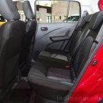 Suzuki Celerio rear seat at the 2014 Paris Motor Show