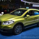 Suzuki SX4 S-Cross front three quarters angle at the 2014 Paris Motor Show