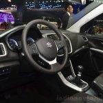 Suzuki SX4 S-Cross interior at the 2014 Paris Motor Show