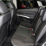 Suzuki SX4 S-Cross rear seat at the 2014 Paris Motor Show