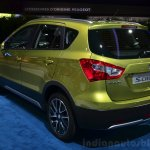 Suzuki SX4 S-Cross rear three quarters at the 2014 Paris Motor Show