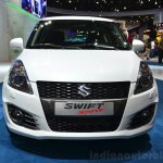 Suzuki Swift Sport front at the 2014 Paris Motor Show