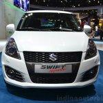 Suzuki Swift Sport front at the 2014 Paris Motor Show