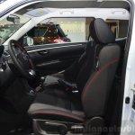 Suzuki Swift Sport front seats at the 2014 Paris Motor Show